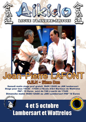 stage aikido lafont